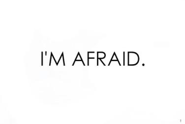 im afraid large
