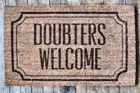 doubters-welcome
